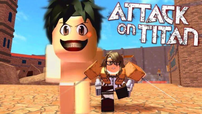 attack on titan roblox