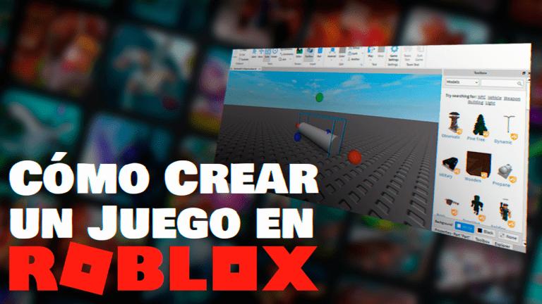 crear juegos en roblox