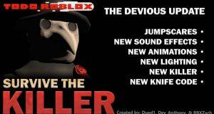 Códigos para Survive the Killer